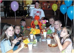 pizza parties for kids