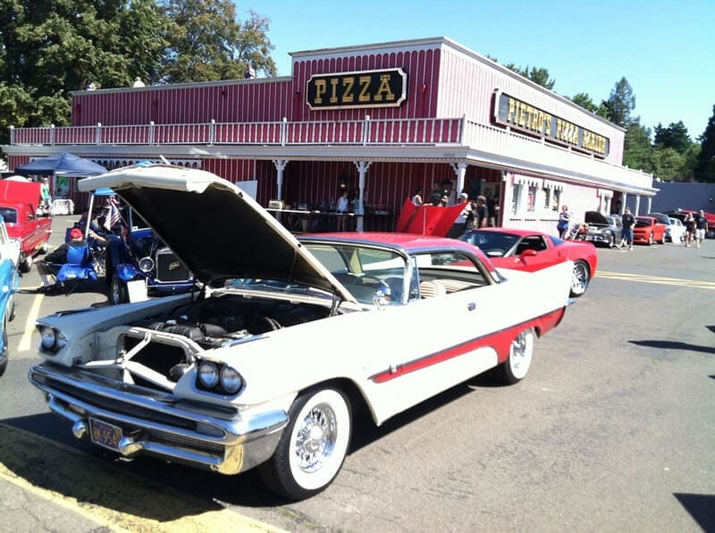 Car Show Fundraiser at Pietro's Pizza