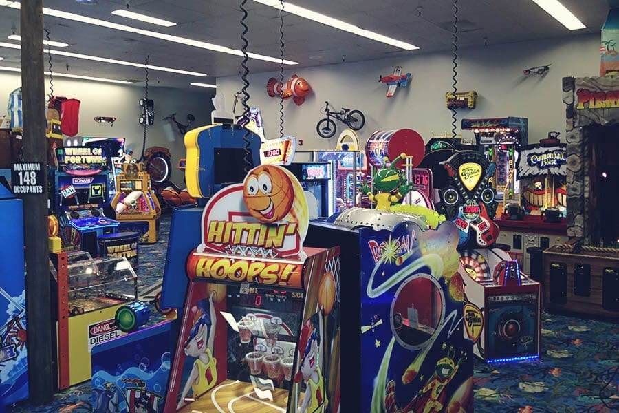 Gallery Of Arcade Games At Pietro S Pizza