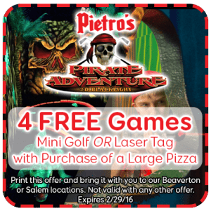 Laser tag discount coupon